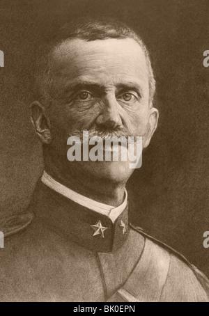Victor Emmanuel III 1869 – 1947. King of Italy. - Stock Photo