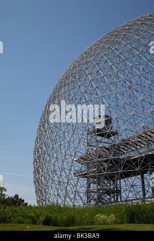 The Biosphere, Montreal, Quebec, Canada, North America - Stock Photo