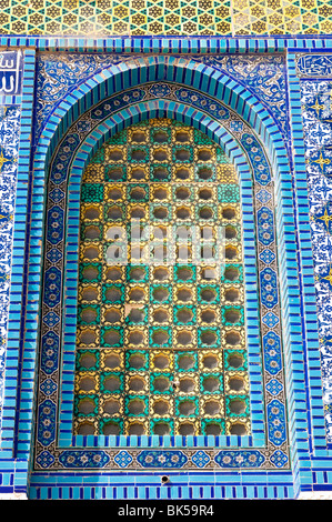 Detail, Dome of the Rock, Jerusalem, Israel, Middle East - Stock Photo