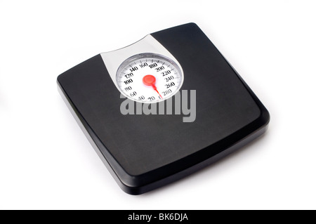 weight scale on white - Stock Photo