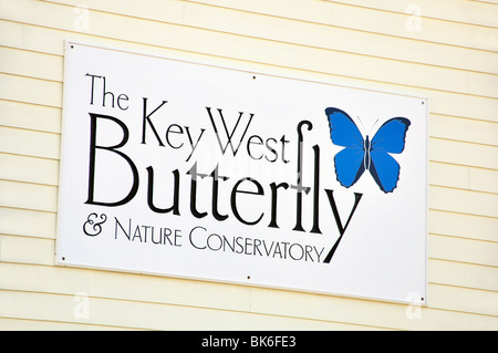 Butterfly &Nature Conservatory, Key West, Florida, USA - Stock Photo