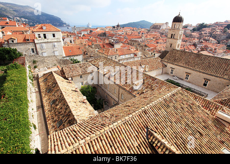 Monastery and buildings in dubrovnik - Stock Photo