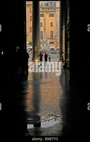 Pantheon, Rome, Lazio, Italy, Europe - Stock Photo