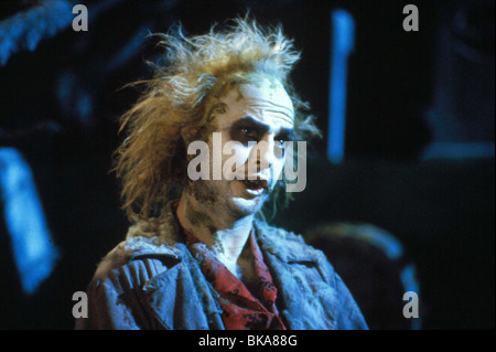 BEETLEJUICE -1987 MICHAEL KEATON - Stock Photo