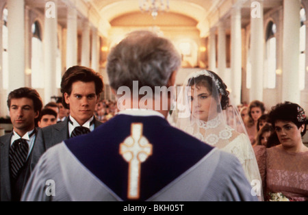 SHE'S HAVING A BABY (1988) ALEC BALDWIN, KEVIN BACON, ELIZABETH MCGOVERN SHB 018 - Stock Photo