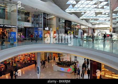 Westfield shopping malls at Shepherds Bush West London - Stock Photo