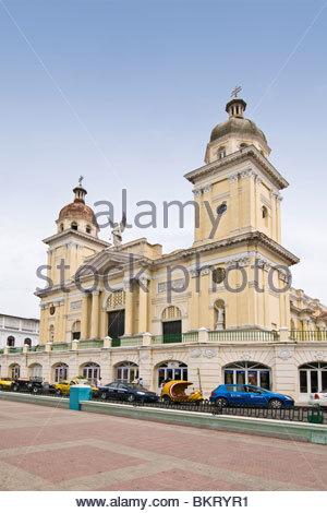 cuba,santiago de cuba,cathedral - Stock Photo