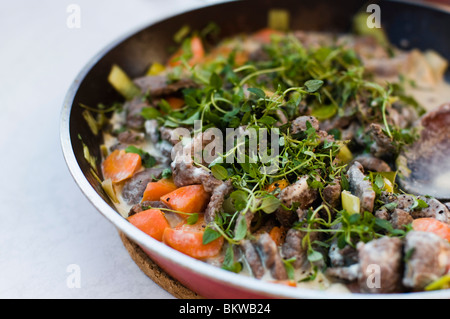 Brightly-coloured food - Stock Photo