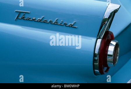 1956 Ford Thunderbird - Stock Photo
