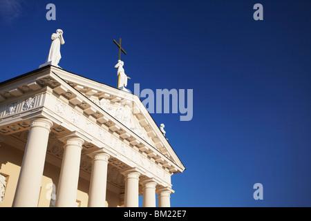 Vilnius Cathedral, Vilnius, Lithuania, Baltic States, Europe - Stock Photo
