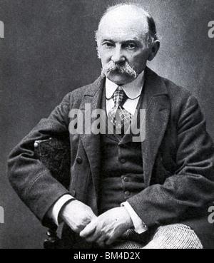 THOMAS HARDY - English novelist, poet and dramatist (1840-1928) - Stock Photo