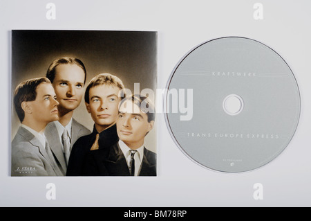 Trans Europe Express, a recording by the German electronic pop group Kraftwerk - Stock Photo