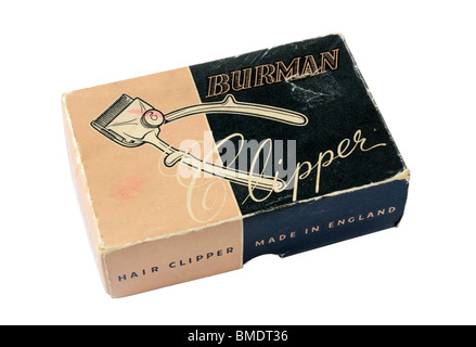 Vintage Burman Hair Clippers - Stock Photo