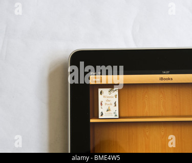Winnie-the-Pooh Book was freely available on the Apple iPad when released. The iPad's main selling point was as - Stock Photo