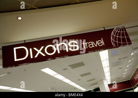 Dixons travel Duty Free shop, Terminal 3, Heathrow airport London, UK - Stock Photo