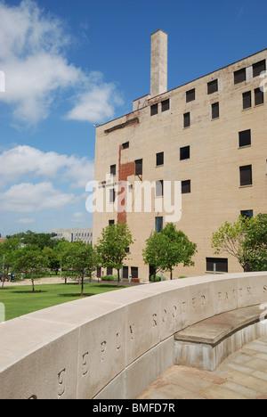 The Oklahoma City National Memorial Museum. - Stock Photo