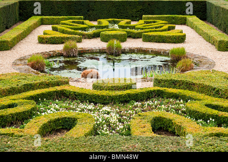 Pond Garden, Hampton Court Palace, Surrey, UK - Stock Photo