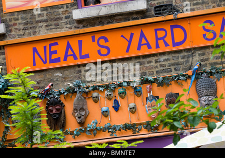 neal's yard, london, england - Stock Photo