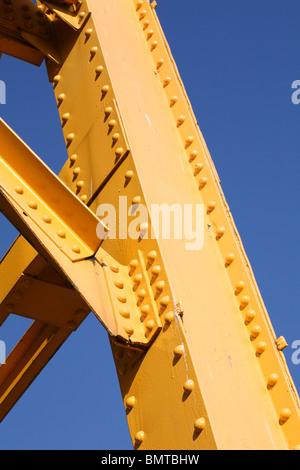 Yellow Girder - Stock Photo