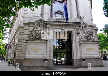Australia House, The Strand, City of Westminster, London, England, United Kingdom - Stock Photo