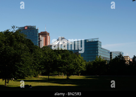 Berlin's central park at Tiergarten - Stock Photo