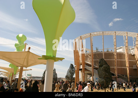 World Expo 2005, Aichi, Japan. 19.03.05 - Stock Photo