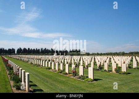 Catania War Cemetery, Sicily, Italy, Europe - Stock Photo