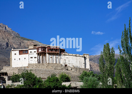 Baltit Fort, Karimabad, Hunza Valley, Pakistan - Stock Photo