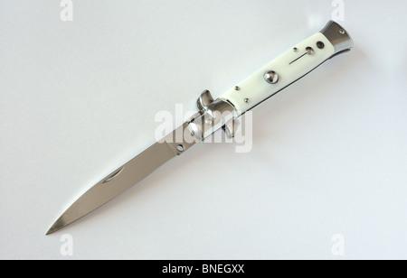 Flick knife - Stock Photo