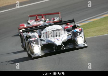 Peugeot LMP1 Sportscar, Le Mans 24 Hours. - Stock Photo