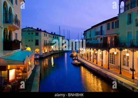 Europe, France,Provence Alpes-Cote-d'Azur, Var, Port-Grimaud - Stock Photo