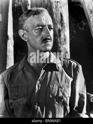 ALEC GUINNESS THE BRIDGE ON THE RIVER KWAI (1957) - Stock Photo