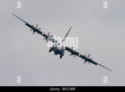 ZH888 Royal Air Force Lockheed Martin Hercules C-130J (L-382) heavy lift transporter. - Stock Photo