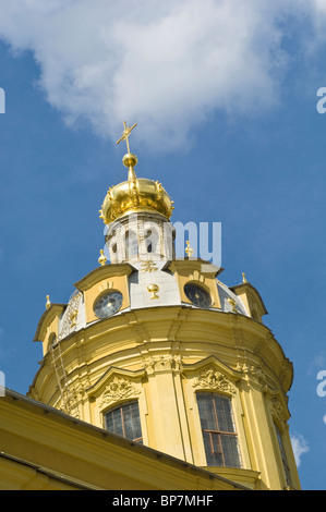 Detail of the Cathedral of SS Peter and Paul, St Petersburg, Russia - Stock Photo