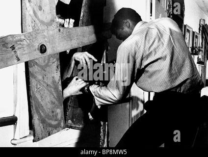 DUANE JONES NIGHT OF THE LIVING DEAD (1968) - Stock Photo