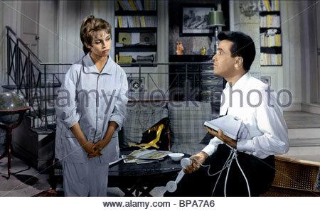 BRIGITTE BARDOT, JEAN BRETONNIERE, THAT NAUGHTY GIRL, 1956 - Stock Photo