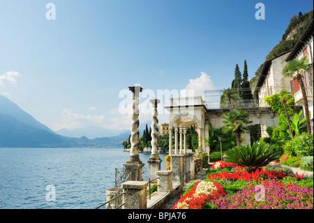 Botanic Garden, Villa Monastero, Varenna, Lake Como, Lombardy, Italy - Stock Photo