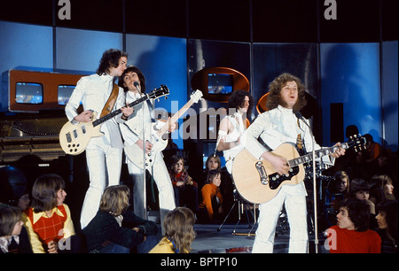 JIMMY LEE DAVE HILL DON POWELL & NODDY HOLDER SLADE POP GROUP (1975) - Stock Photo