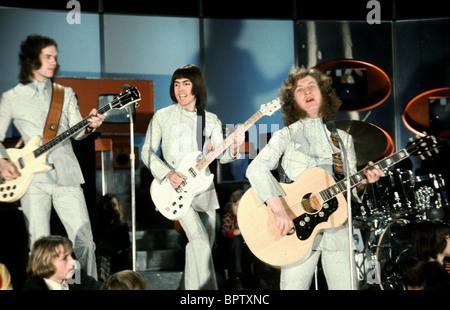 JIMMY LEA DAVE HILL & NODDY HOLDER SLADE POP GROUP (1975) - Stock Photo