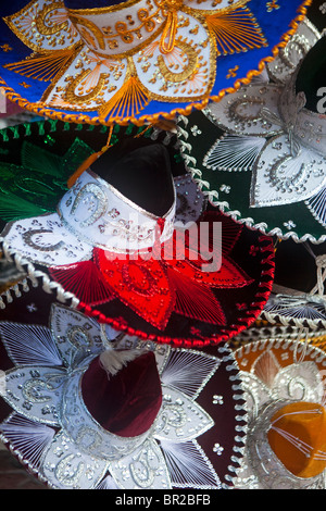 Sombreros for sale in Mexico - Stock Photo