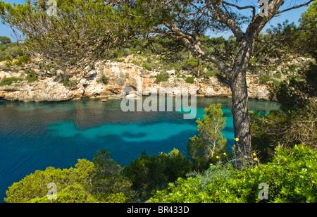 Bay of Cala Pi, Majorca - Stock Photo