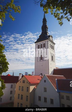 Niguliste Church, Tallinn, Estonia, Baltic States, Europe - Stock Photo