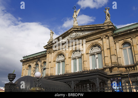 The National Theater in San Jose, Costa Rica, Central America - Stock Photo