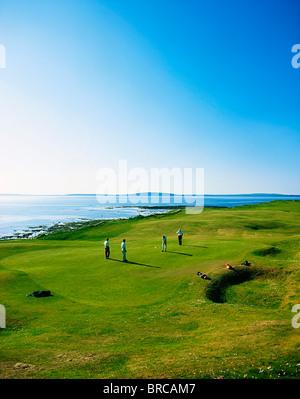 Ballybunion Golf Club, Co Kerry, Ireland - Stock Photo
