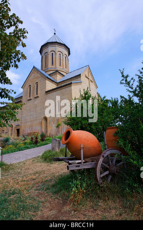 The Church of St Nicolas inside the Narikala Fortress, Tbilisi, Georgia - Stock Photo
