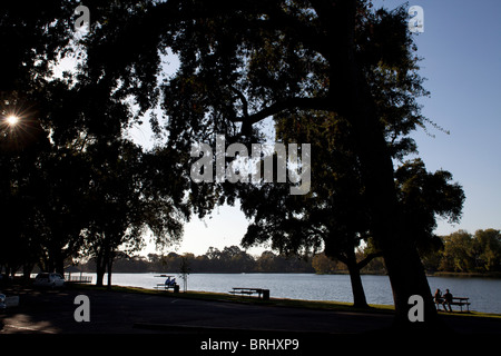 Lodi Lake In Lodi California - Stock Photo