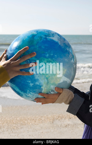 Ecology concept, protecting the earth - Stock Photo