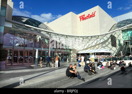 Westfield shopping centre in London - Stock Photo