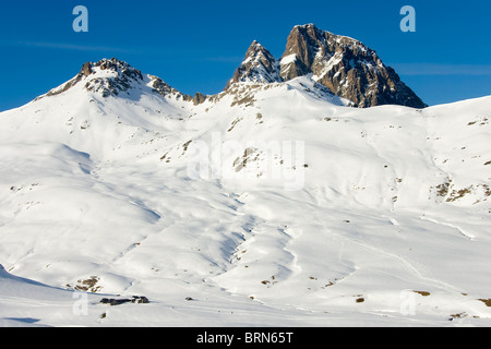 Pyrenees in Formigal, Huesca, Spain - Stock Photo