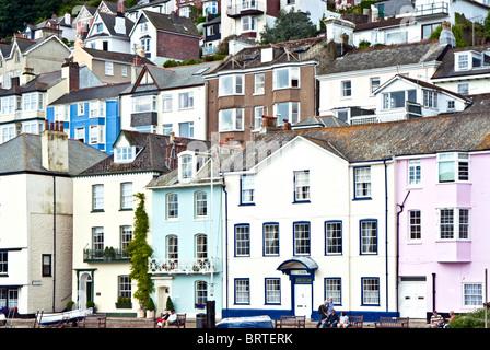 Kingswear, Devon on the banks of the  River Dart - Stock Photo